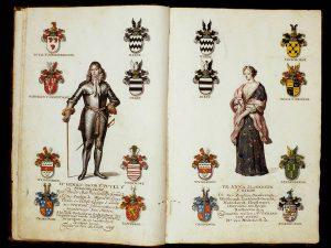 Genealogie van Hendrik Jacob van Tuyll van Serooskerken en Anna Elizabeth van Reede met portretten en kwartierstaten. (circa 1692), Collectie Slot Zuylen