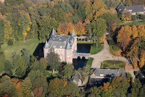 Nederhorst in de herfst, gezien vanuit de lucht