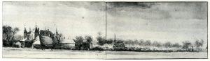 Gezicht op Nederhorst en Den Berg, Roelant Roghman, 1647