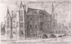 Tekening toegeschreven aan Jan de Beijer (1738)